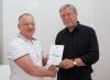 David Bolton Tenby CC reciving his certificate.jpg
