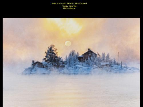Antti Ahomaki EFIAP LRPS_Finland_Foggy Sunrise_FIAP Ribbon.jpg