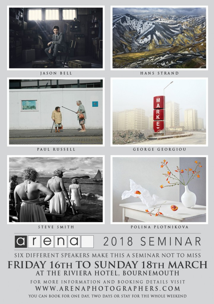 Arena Seminar Web Advert