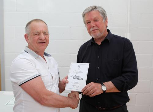 David Bolton Tenby CC reciving his certificate.jpg